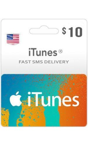 Buy $10 ITunes Gift Card – US-Instant Email Delivery