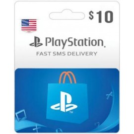 $10 Playstation Card USA Region - Instant Email delivery