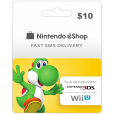 $10 Nintendo EShop Prepaid Card (US)-Instant Email Delivery