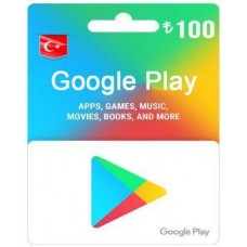 TL100 Google Play Gift Card – TR-Instant Email Delivery