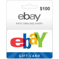 $100 EBay Gift Card (US)-Instant Email Delivery