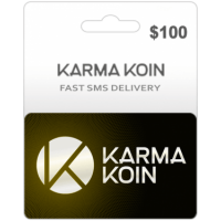 $100 Karma Koin Card (Global)-Instant Email Delivery