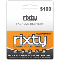 $100 Rixty Code (Global)-Instant Email Delivery