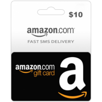 $10 Amazon Gift Card (US)-Instant Email Delivery