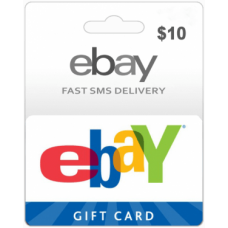 $10 EBay Gift Card USA Region -Instant Email Delivery