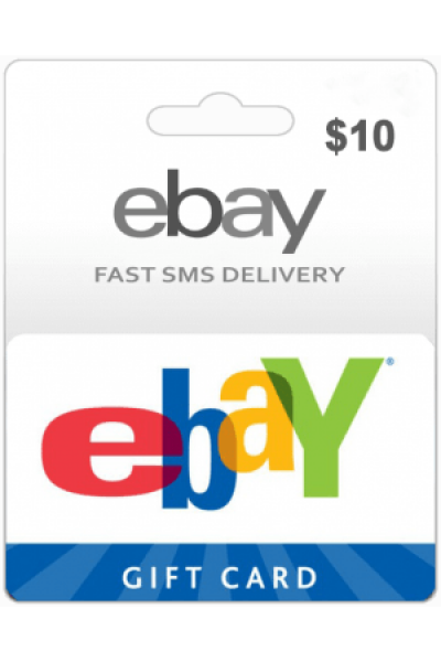 10 Ebay Gift Card Usa Region Instant Email Delivery