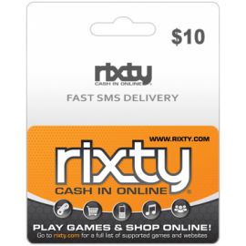 $10 Rixty Code (Global)-Instant Email Delivery
