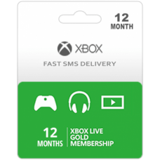 Xbox Live Gold 12 Months Subscription-Instant Email Delivery