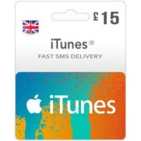 GBP15 ITunes Gift Card – UK-Instant Email Delivery