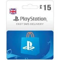 GBP15 PSN Card (PS Vita/PS3/PS4) – UK-Instant Email Delivery