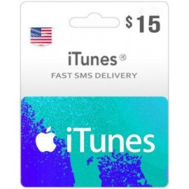 $15 ITunes Gift Card – US-Instant Email Delivery