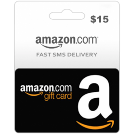 $15 Amazon Gift Card (US)-Instant Email Delivery
