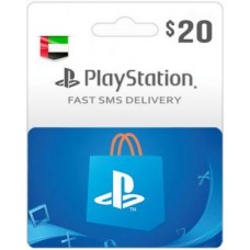 $20 PSN Card (PS Vita/PS3/PS4) – UAE-Instant Email Delivery