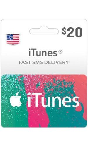 $20 ITunes Gift Card – US-Instant Email Delivery