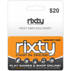 $20 Rixty Code (Global)-Instant Email Delivery