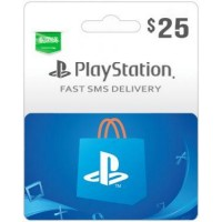 $25 PSN Card (PS Vita/PS3/PS4) – SA-Instant Email Delivery