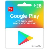 TL25 Google Play Gift Card – TR-Instant Email Delivery