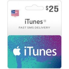$25 ITunes Gift Card – US-Instant Email Delivery