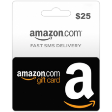 $25 Amazon Gift Card (US)-Instant Email Delivery
