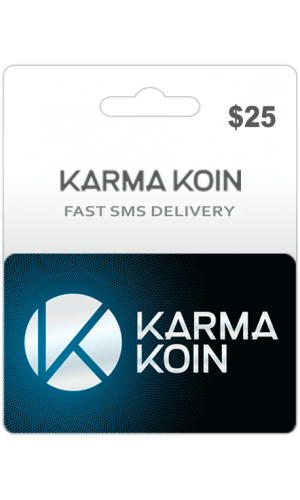 $25 Karma Koin Card (Global)-Instant Email Delivery