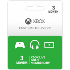 Xbox Live Gold 3 Months Subscription-Instant Email Delivery