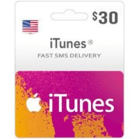 $30 ITunes Gift Card – US-Instant Email Delivery