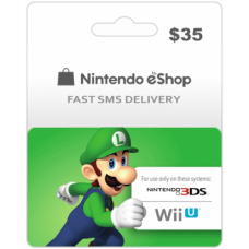 $35 Nintendo EShop Prepaid Card (US)-Instant Email Delivery