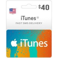 $40 ITunes Gift Card – US-Instant Email Delivery