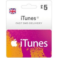 GBP5 ITunes Gift Card – UK-Instant Email Delivery