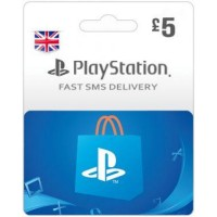 GBP5 PSN Card (PS Vita/PS3/PS4) – UK-Instant Email Delivery