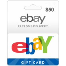 $50 EBay Gift Card (US)-Instant Email Delivery
