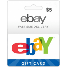 $5 EBay Gift Card (US)-Instant Email Delivery