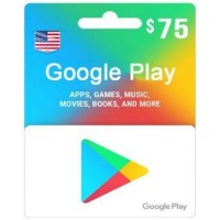 $75 Google Play Gift Card (US)-Email Instant Delivery