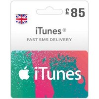 GBP85 ITunes Gift Card – UK-Instant Email Delivery