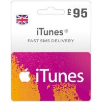 GBP95 ITunes Gift Card – UK-Instant Email Delivery