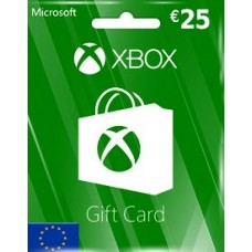 EUR25 XBOX LIVE GIFT CARD (EU)-Instant Email Delivery