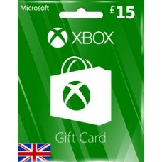 GBP15 XBOX LIVE GIFT CARD (UK)-Instant Email Delivery