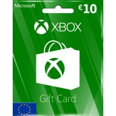 EUR10 XBOX LIVE GIFT CARD (EU)-Instant Email Delivery