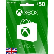 GBP50 XBOX LIVE GIFT CARD (UK)-Instant Email Delivery