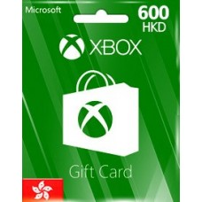 HKD600 XBOX LIVE GIFT CARD (HK)-Instant Email Delivery
