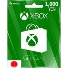 1,000YEN XBOX LIVE GIFT CARD (JP)-Instant Email Delivery