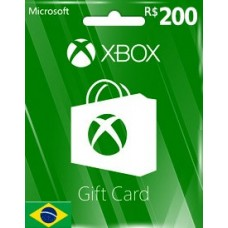 BRL200 XBOX LIVE GIFT CARD (BR)-Instant Email Delivery