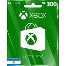 XBOX LIVE GIFT CARD ARS300 (AR)-Instant Email Delivery