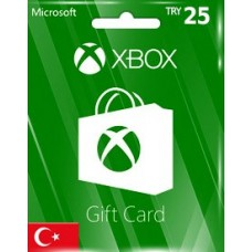 XBOX LIVE GIFT CARD TRY25 (TR)-Instant Email Delivery