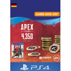 Apex Legends 4350 Coins PS4 (Germany)-PC Code