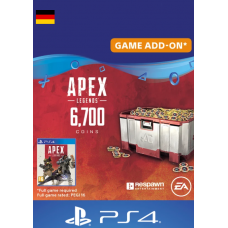 Apex Legends 6700 Coins PS4 (Germany)-PC Code