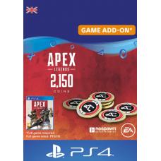 Apex Legends 2150 Coins PS4 (UK)-PC Code