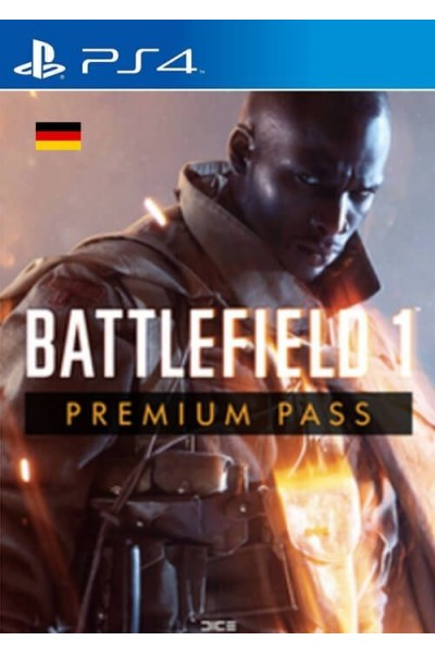 Battlefield 1 premium pass ps4 code
