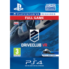 DriveClub VR PS4-PC Code