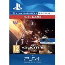 EVE Valkyrie VR PS4-PC Code